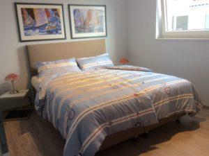 Schlafzimmer-2 mit Boxspringbett 180 x 200